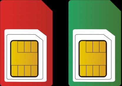 Duosim en dual sim twee simkaarten
