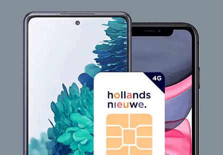Hollandsnieuwe aansluitkosten smartphone sim