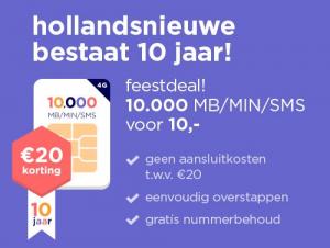 Hollandsnieuwe bestaat 10 jaar