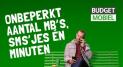 Budget mobiel 6 maanden € 5,- korting