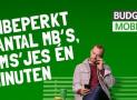 Budget mobiel + JBL clip 4