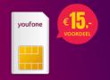 Youfone sim only geen aansluitkosten